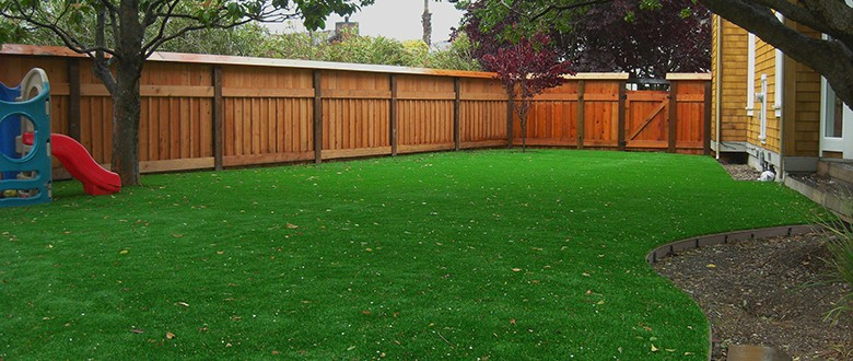 A Solution for Shade: Artificial Grass Lawns