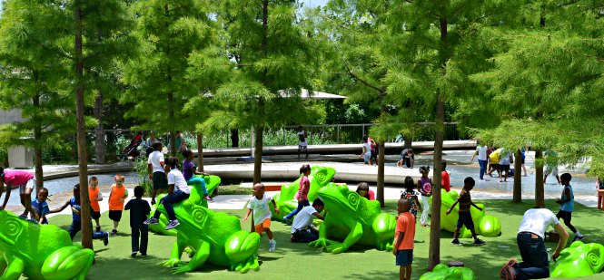 Artificial Grass Outdoor Play Spaces for Kids