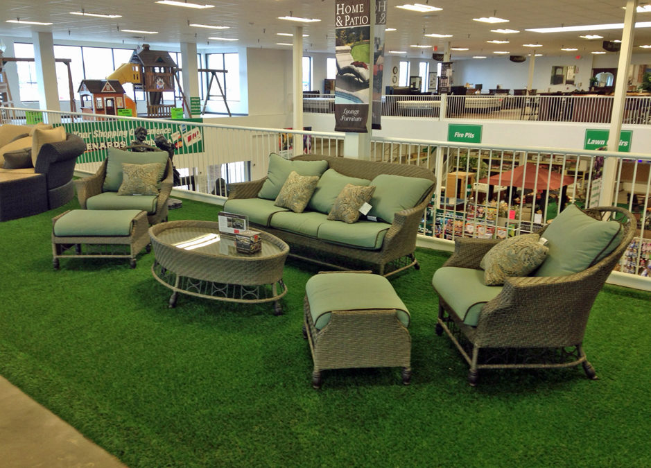 Artificial Grass Brightens Commercial Spaces